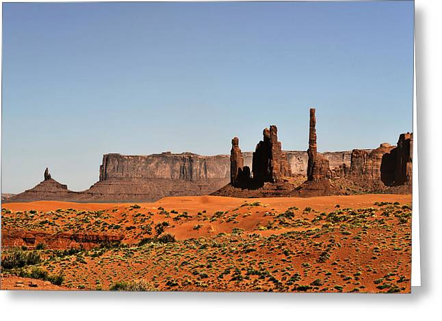 Tribal Greeting Cards - Monument Valley - Icon of the West Greeting Card by Christine Till
