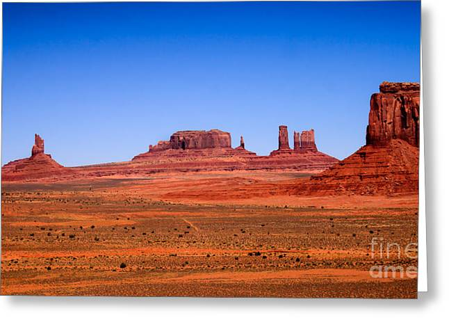 Grand Circle Greeting Cards - Monument Valley II Greeting Card by Robert Bales
