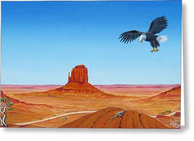 Jerome Stumphauzer Greeting Cards - Monument Valley Greeting Card by Jerome Stumphauzer