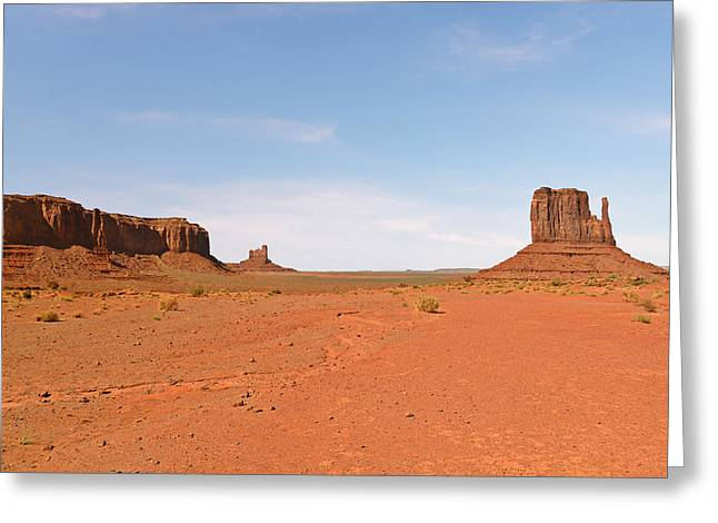 Monument Valley Navajo Tribal Park Greeting Card by Christine Till