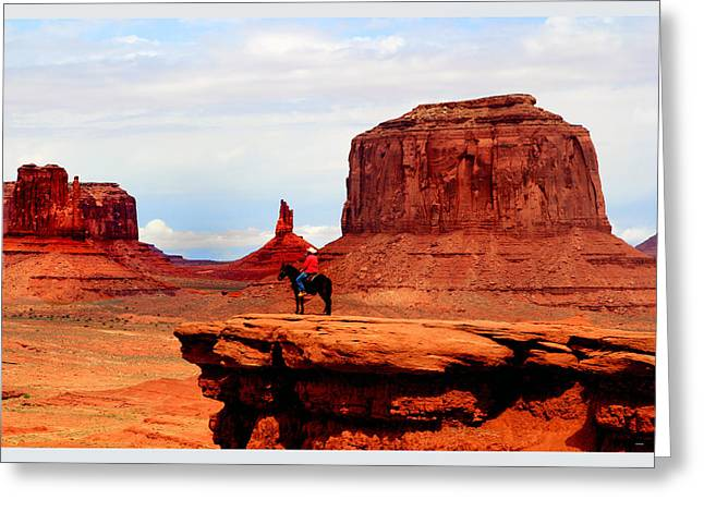 The Plateaus Digital Greeting Cards - Monument Valley Greeting Card by Tom Prendergast