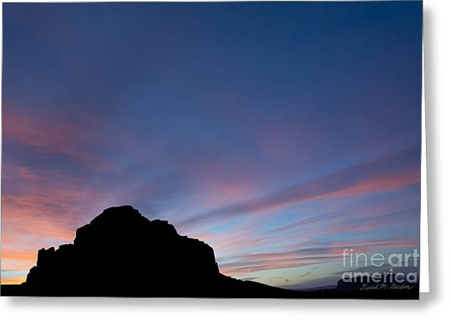 Chromatic Greeting Cards - Monument Valley VI Greeting Card by David Gordon