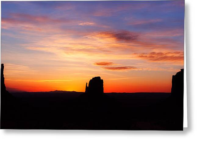 Monument Photographs Greeting Cards - Monumental Sunrise Greeting Card by Darren  White