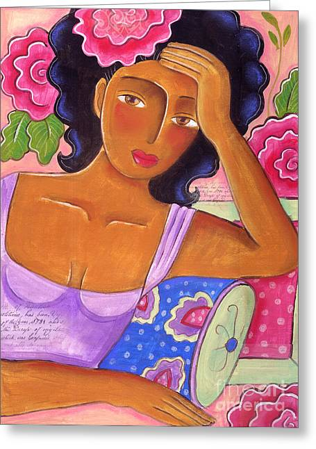 Jackson Pastels Greeting Cards - Moods Greeting Card by Elaine Jackson