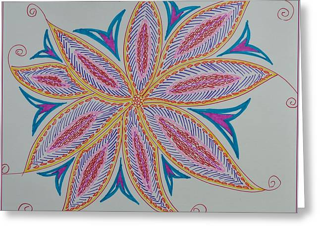 Occasion Drawings Greeting Cards - Moody creation Greeting Card by Sonali Gangane