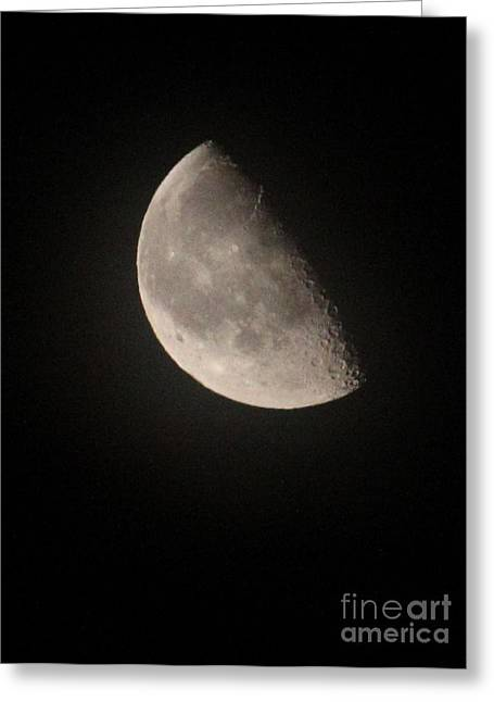 Evgeny Pisarev Greeting Cards - Moon Greeting Card by Evgeny Pisarev