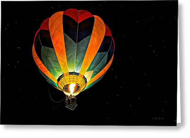 Moonglow Greeting Cards - Moon Glow Greeting Card by Bob Orsillo