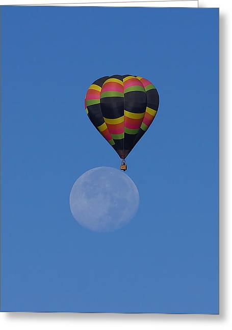 Moon Landing Greeting Cards - Moon Landing Greeting Card by Ernie Echols