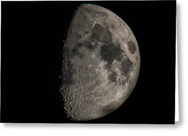 Celestial Bodies Greeting Cards - Moon Greeting Card by Paul Freidlund