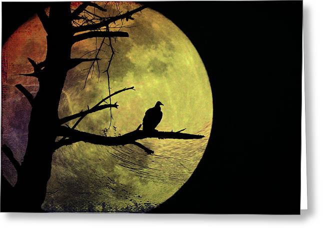Goblin Digital Art Greeting Cards - Moonlight Mile Greeting Card by Bill Cannon