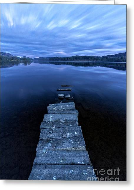 Visitscotland Greeting Cards - Moonlight Shadow Greeting Card by John Farnan