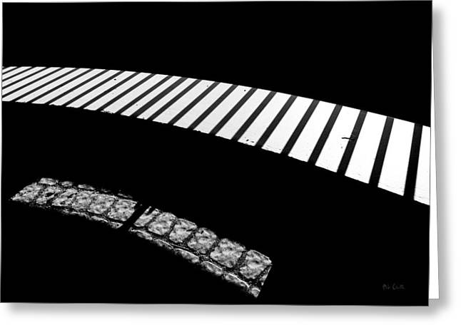 Decorative Art Greeting Cards - Moonlight Under The Highway Greeting Card by Bob Orsillo