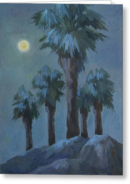 Moonrise 2 Greeting Card by Diane McClary