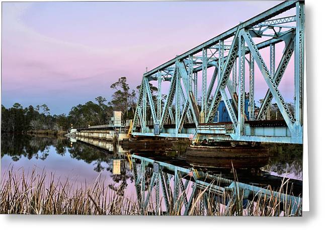 Moonrise over Milton Greeting Card by JC Findley
