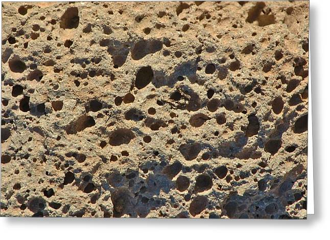 Holier Greeting Cards - Moonscape Greeting Card by Linda Brody