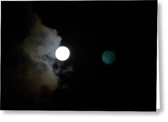 Moonshadow Greeting Cards - Moonshadow Greeting Card by As You See  It