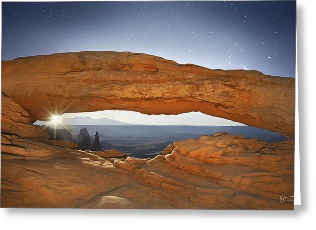 Moonrise Greeting Cards - Moonshine - CraigBill.com - Open Edition Greeting Card by Craig Bill