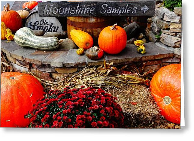 Booze Greeting Cards - Moonshine Greeting Card by Dan Sproul