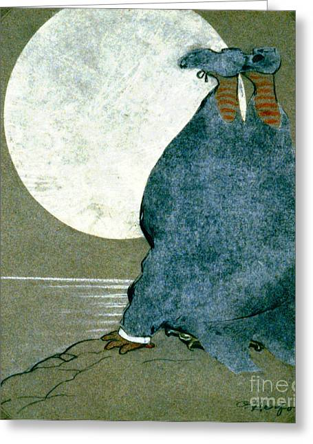Moonstruck 1913 Greeting Card by Padre Art