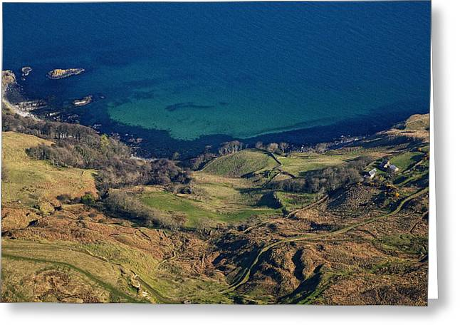 Ballycastle Greeting Cards - Moorlough Bay, Ballycastle Greeting Card by Colin Bailie