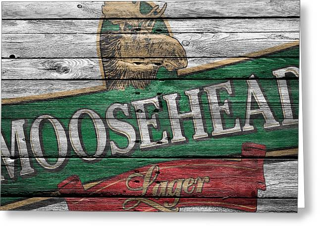 Moosehead Greeting Card by Joe Hamilton