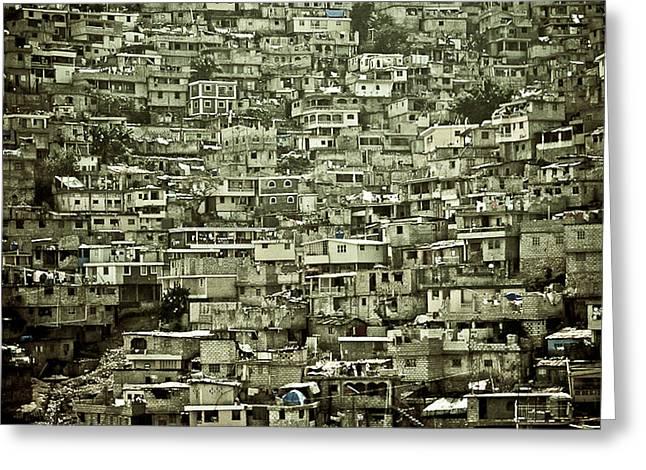 Tion Greeting Cards - Moradia - Haiti Greeting Card by Radilson Carlos Gomes da Silva