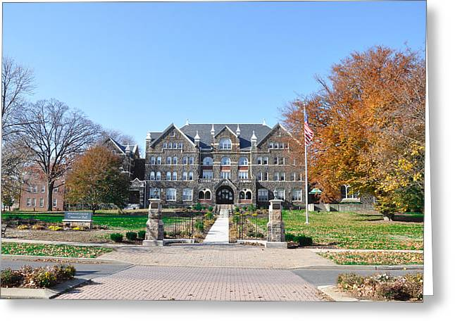 Moravian Greeting Cards - Moravian College - Bethlehem Greeting Card by Bill Cannon