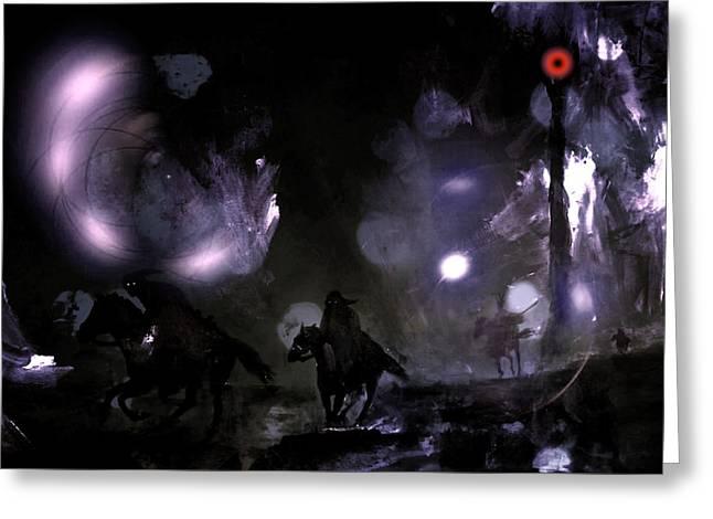 Lord Of The Rings Greeting Cards - Mordor Unleashed IIII Greeting Card by Joe Gilronan