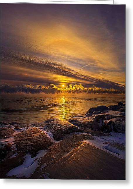 Winter Travel Greeting Cards - More Than a Memory Greeting Card by Phil Koch