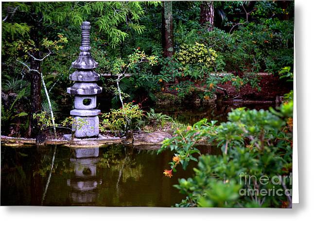 Delray Beach Greeting Cards - Morikami Japanese Garden and Museum Greeting Card by Amy Cicconi