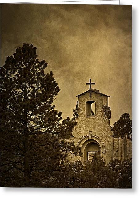 Morley Greeting Cards - Morley Church Greeting Card by Priscilla Burgers