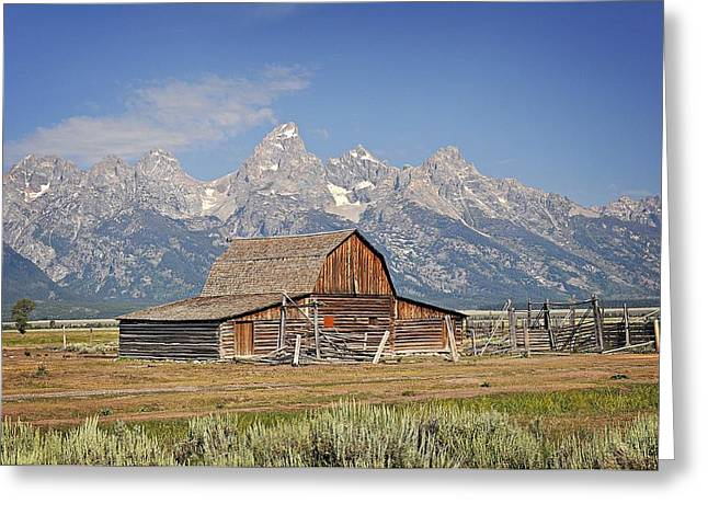 Mormon Barn 2 Greeting Card by Marty Koch