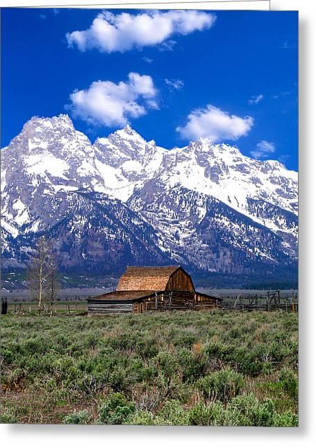 Most Photographs Greeting Cards - Mormon Barn Greeting Card by Douglas Barnett