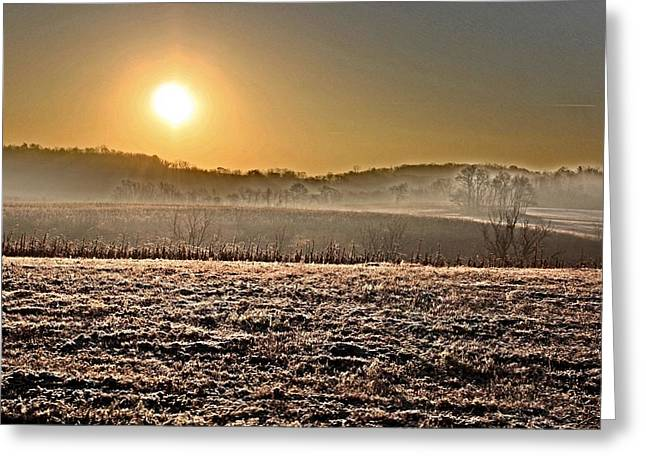 Jahred Allen Photography Greeting Cards - Morning Air Greeting Card by Jahred Allen