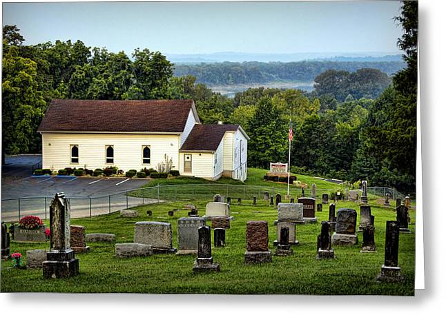 Boone County Greeting Cards - Morning at Goshen Greeting Card by Cricket Hackmann