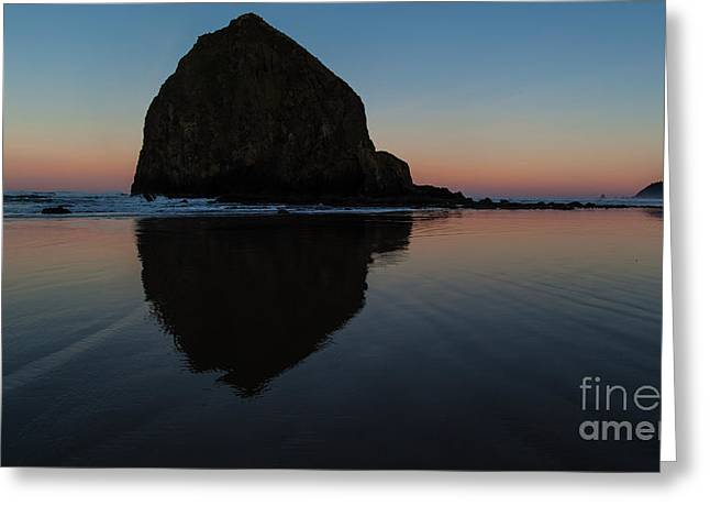 Morning At Haystack Greeting Card by Mike Reid