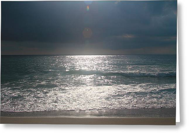North Sea Greeting Cards - Morning at Rodanthe Beach Greeting Card by Cathy Lindsey