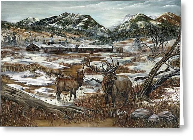 Hunters Paradise Greeting Card by Jim Olheiser