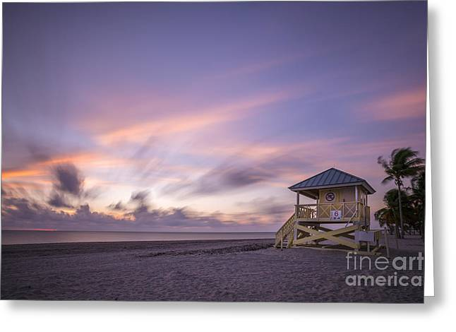Sand Key Greeting Cards - Morning Bliss Greeting Card by Evelina Kremsdorf
