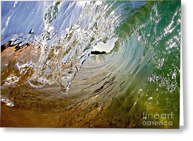 Surfing Photos Greeting Cards - Morning Bowls  Greeting Card by Justin  Barlahan