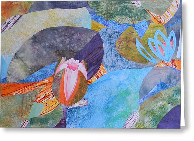 Adel Nemeth Greeting Cards - Morning by the Lily Pond Greeting Card by Adel Nemeth
