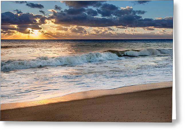 Cape Cod National Seashore Greeting Cards - Morning Clouds Greeting Card by Bill  Wakeley