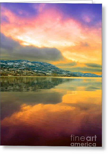 Snow Capped Greeting Cards - Morning Entrance Greeting Card by Tara Turner
