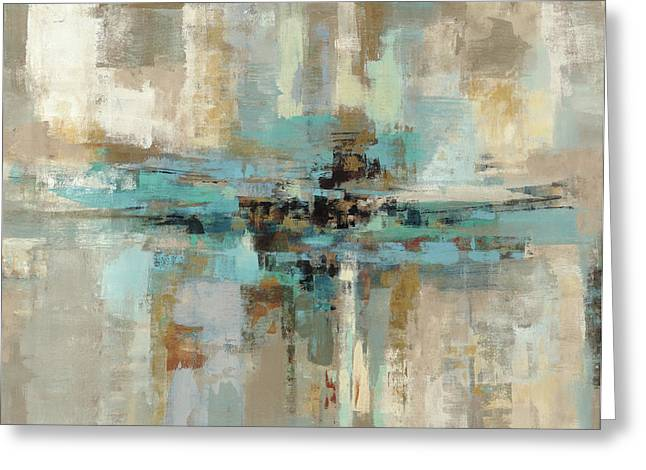 Morning Fjord Greeting Card by Silvia Vassileva
