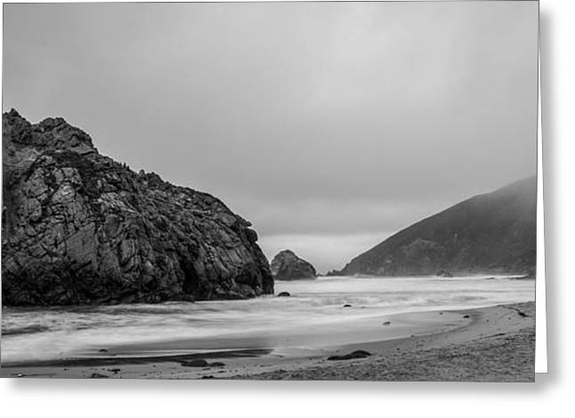 Big Sur California Greeting Cards - Morning Fog  Greeting Card by George Buxbaum