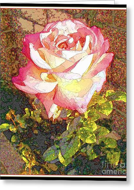 Garden Scene Greeting Cards - Morning Fragrance Greeting Card by Glenn McCarthy Art and Photography