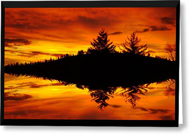 Sunset Greeting Cards Greeting Cards - Morning Glory Greeting Card by Kevin Bone