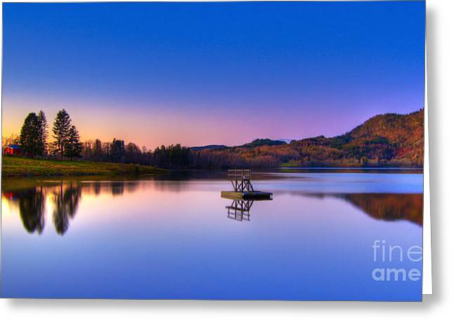 Hdr Photos Greeting Cards - Morning Glory.. Greeting Card by Nina Stavlund