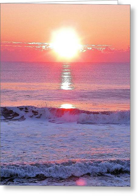 Beach Photography Greeting Cards - Morning Has Broken Greeting Card by Kim Bemis