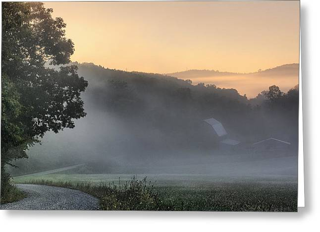 Morning Has Broken - Landscapes Greeting Card by Shara Lee